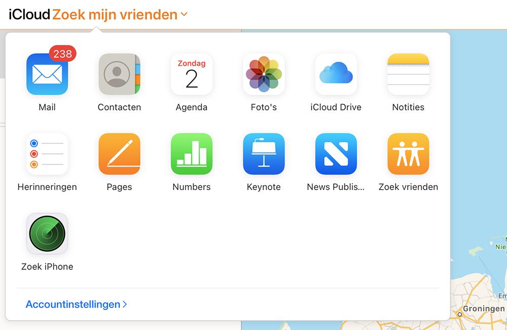 Zoek mijn-app: personen, apparaten