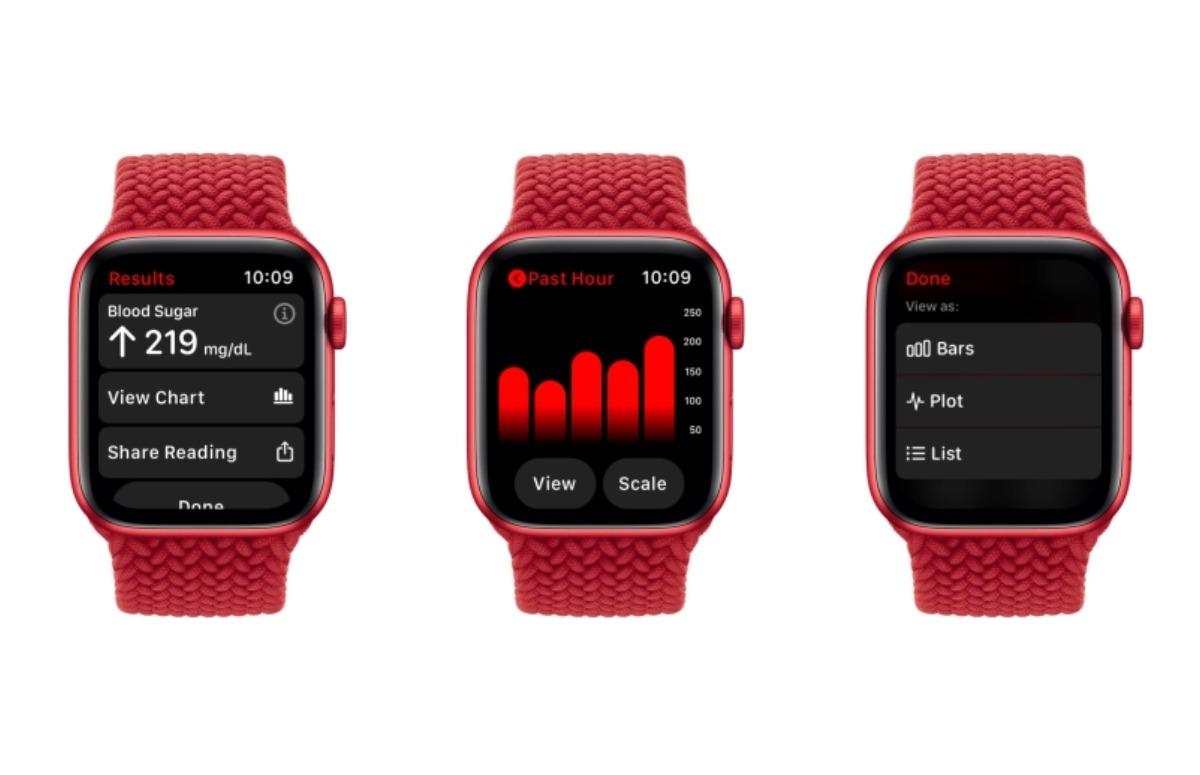 Bloedsuiker op Apple Watch