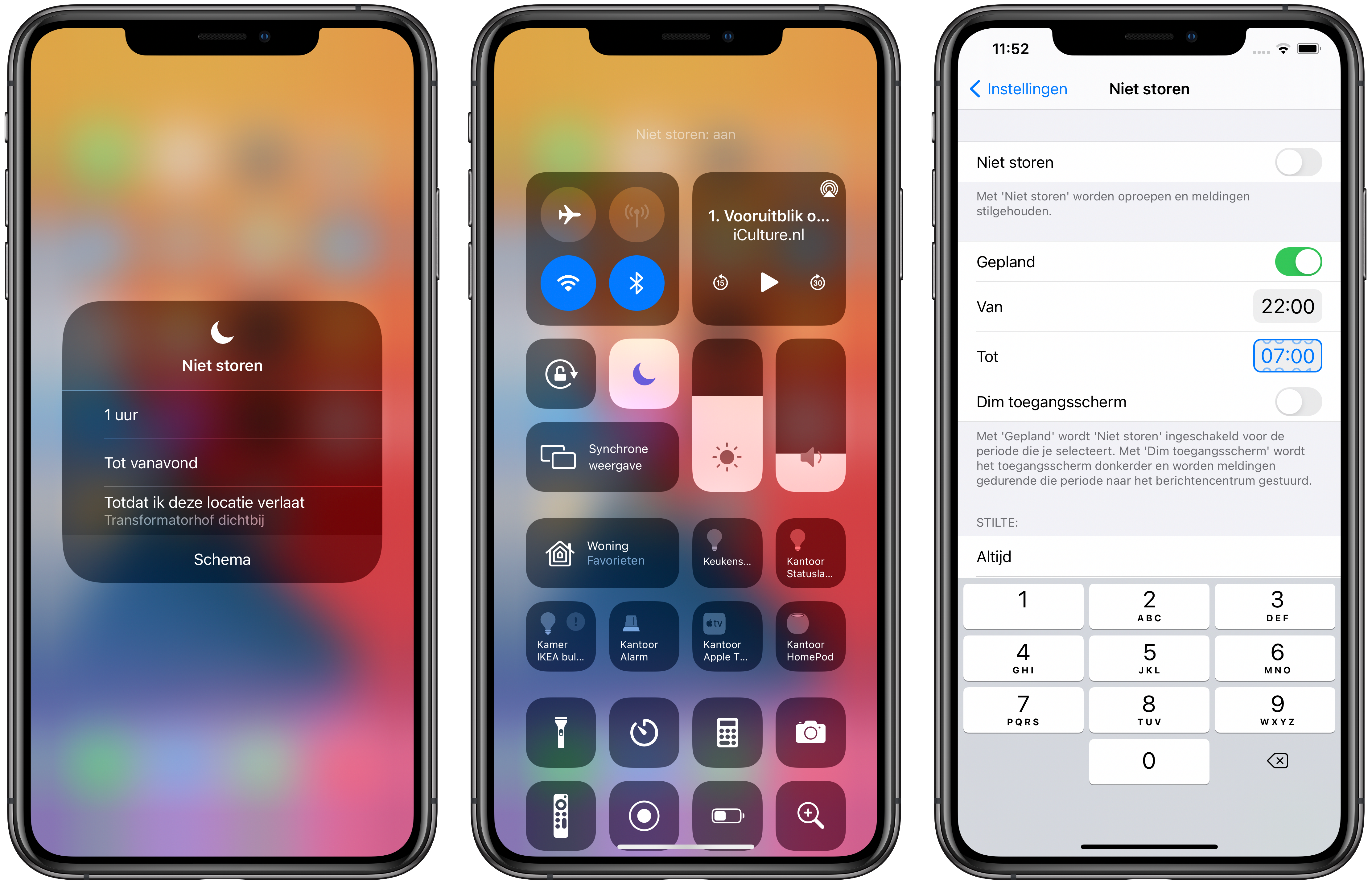 iphone-niet-storen-bedieningspaneel-schema