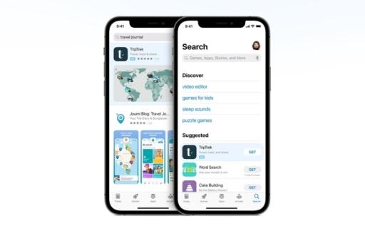 App Store reclame zoeken