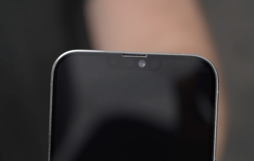Notch in dummy iPhone 13 Pro Max.