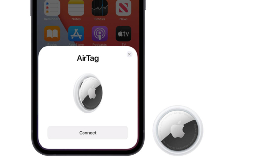 AirTag koppelen met iPhone