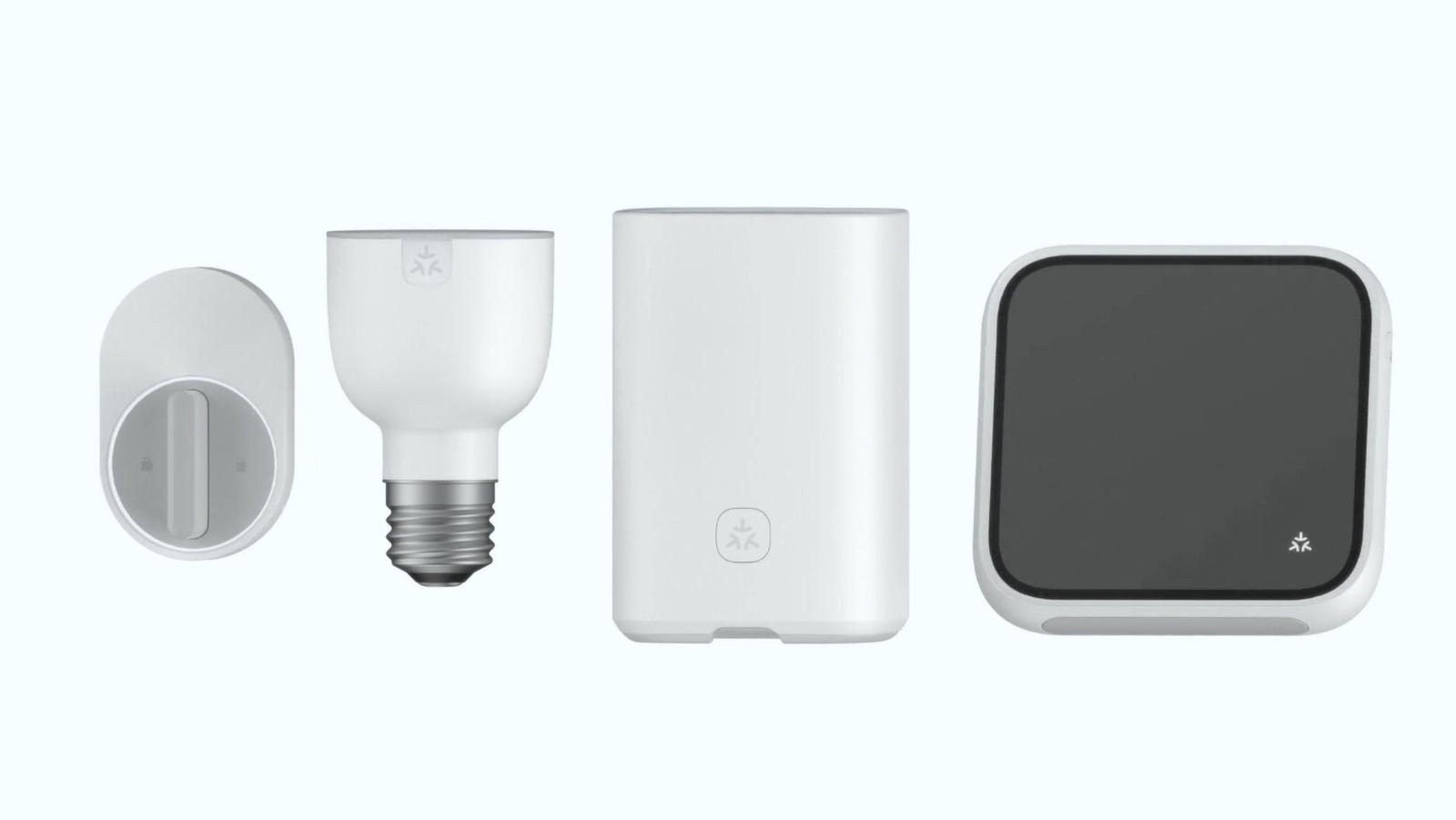 Matter smart home producten met logo