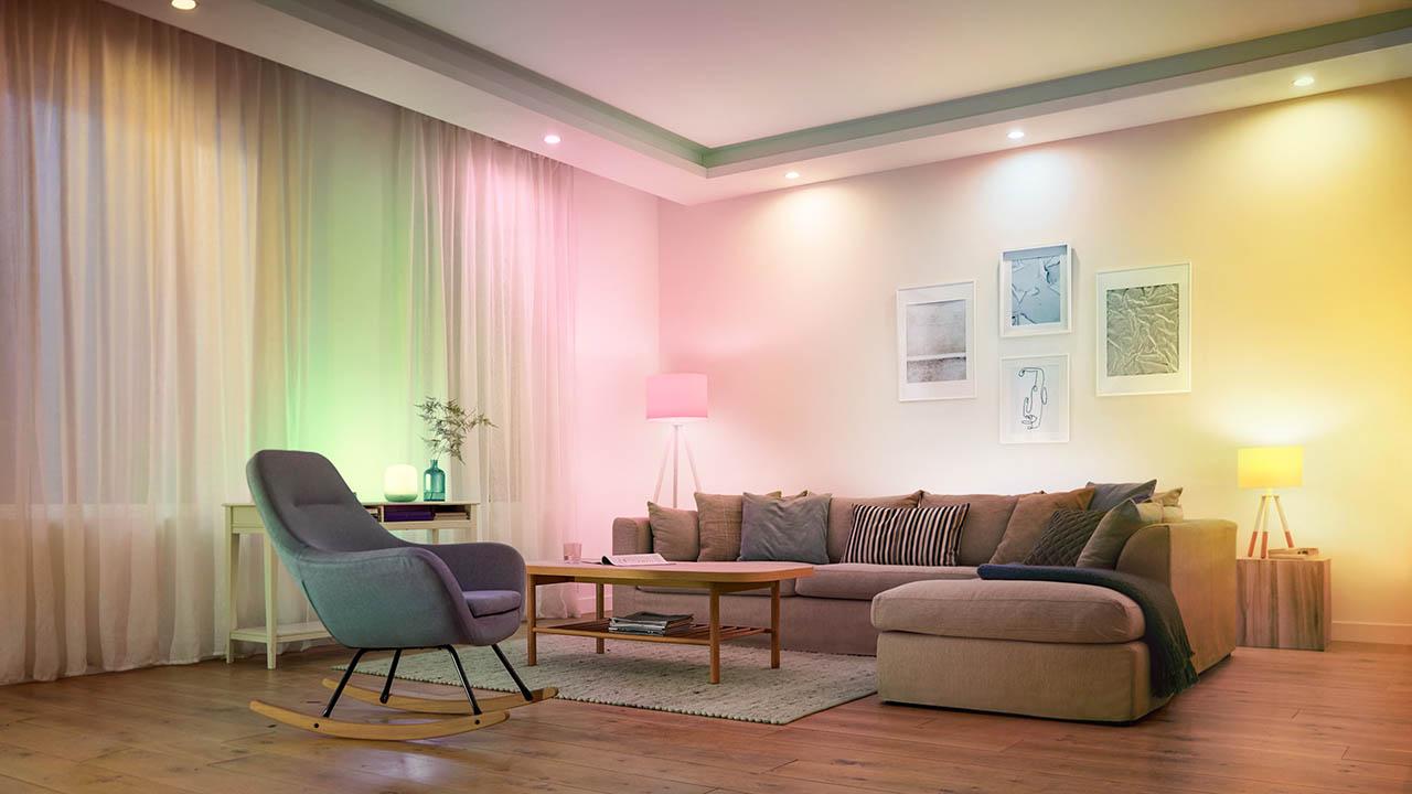Smart home met slimme verlichting van Signify (WiZ)