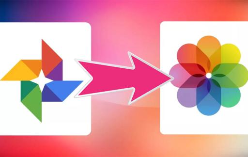 Google Foto's naar iCloud