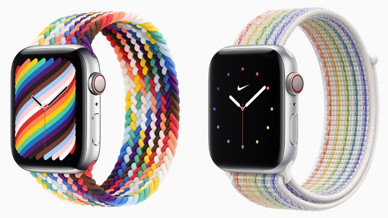 Apple Watch Pride 2021