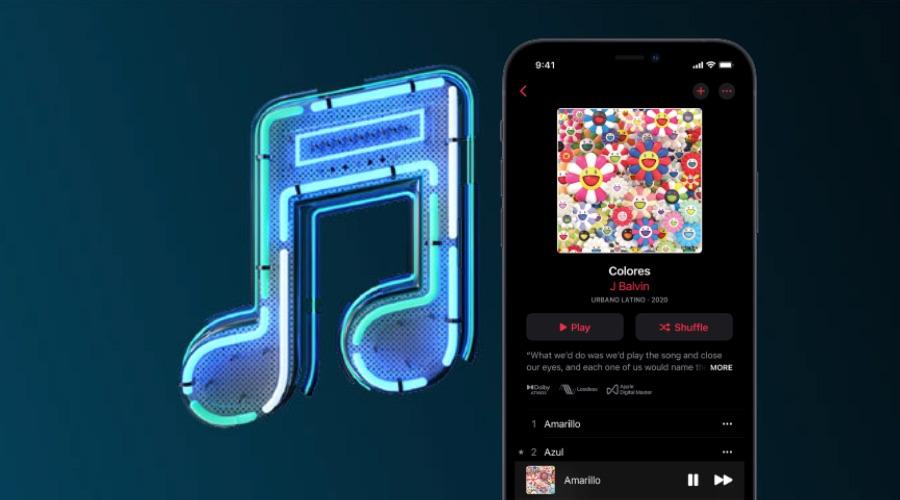 Apple Music Lossless audio.