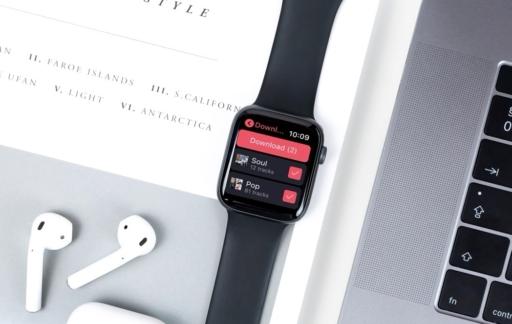 Deezer op Apple Watch: muziek downloaden.