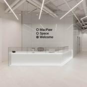 Receptie Apple-museum in Kiev