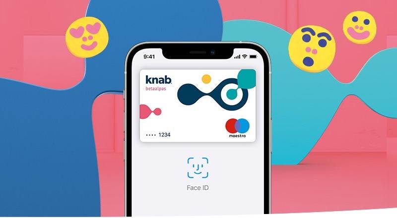 Knab met Apple Pay.