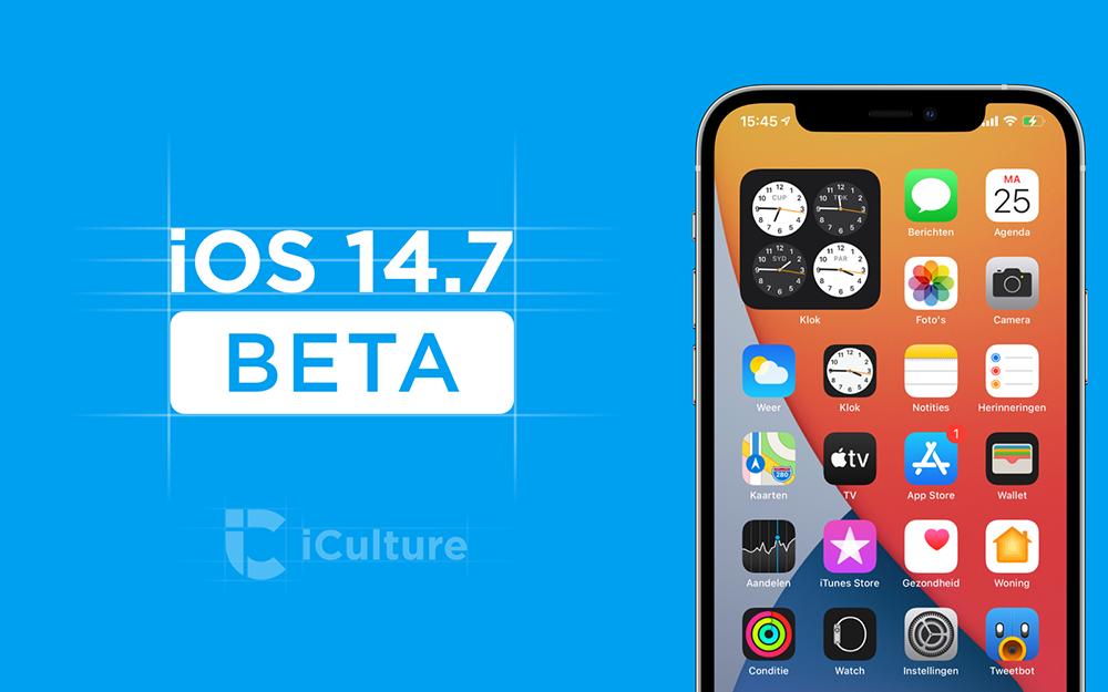 iOS 14.7 bèta