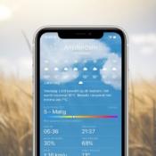 Nieuw in iOS 14.7: luchtkwaliteit in de Weer-app in Nederland