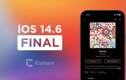iOS 14.6 Final.