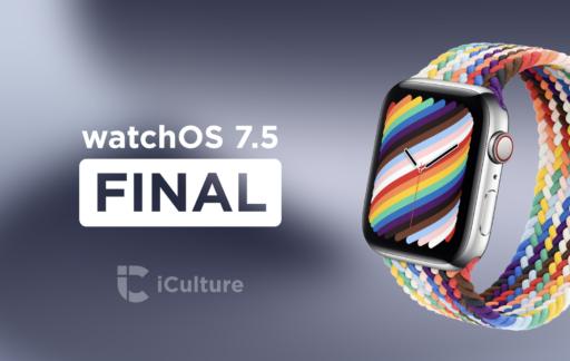 watchOS 7.5 Final.