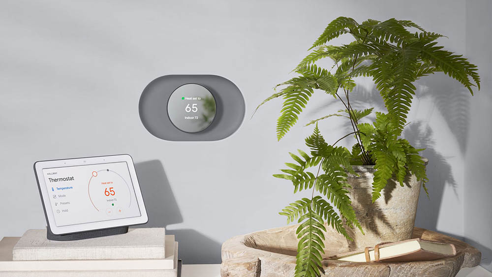 Nest Thermostat 2020 grijs