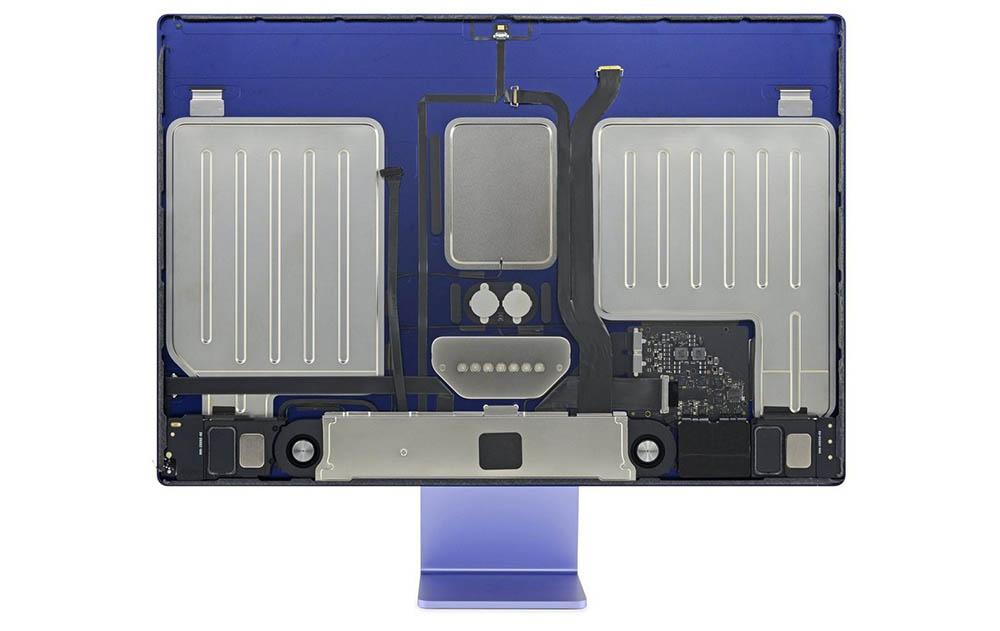 iMac 2021 teardown