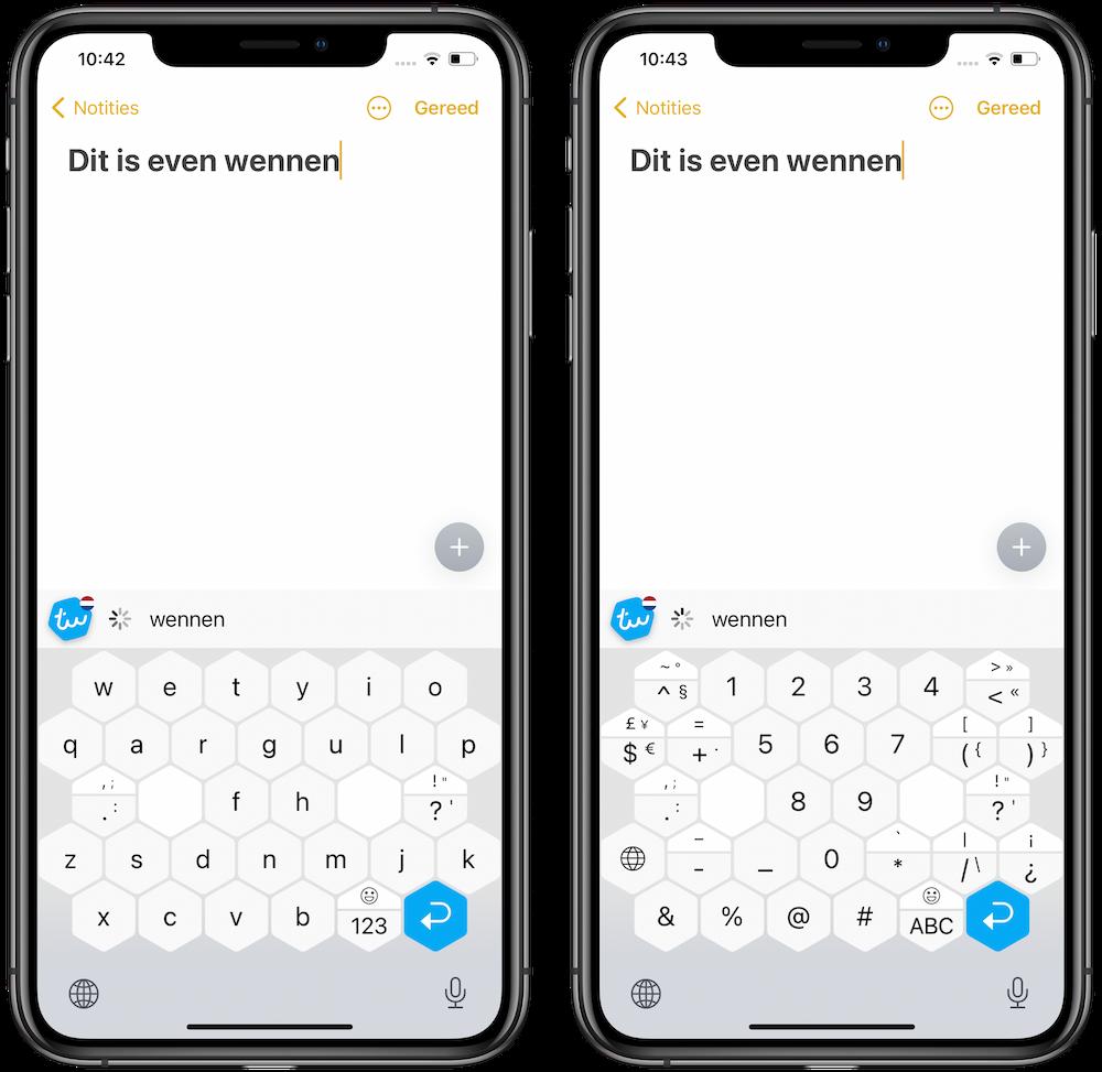 typewise-toetsenbord-iphone
