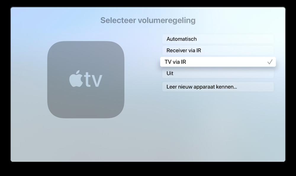 volume-tv-met-siri-remote-instellen