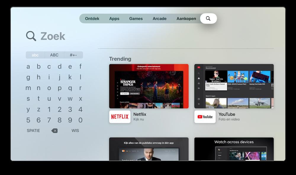 rasterweergave-toetsenbord-apple-tv