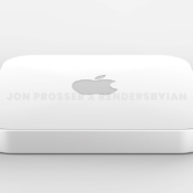 Mac mini M1X render en design.