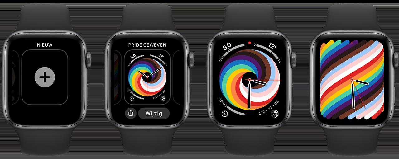 Apple Pride 2021 wijzerplaat