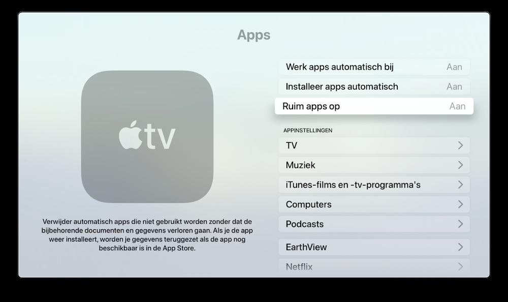 automatisch-apps-opruimen-apple-tv