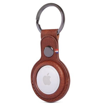 Decoded Leather KeyChain AirTag hoesje