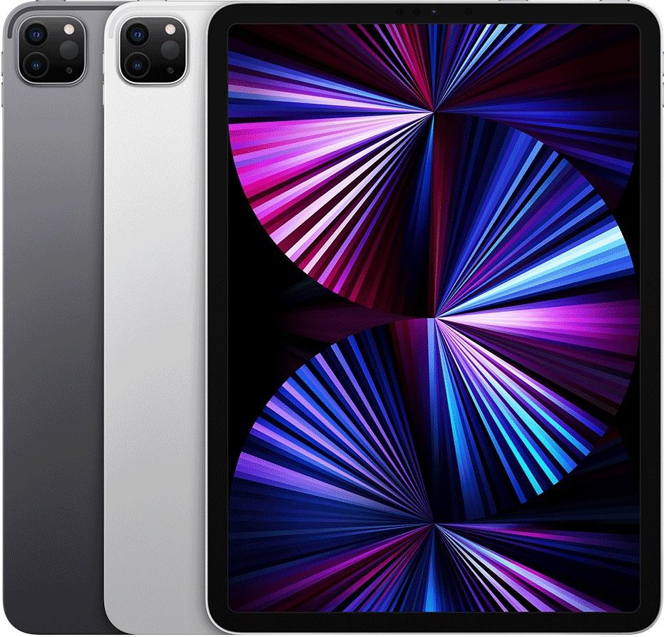 iPad Pro 2021 11-inch in meerdere kleuren.