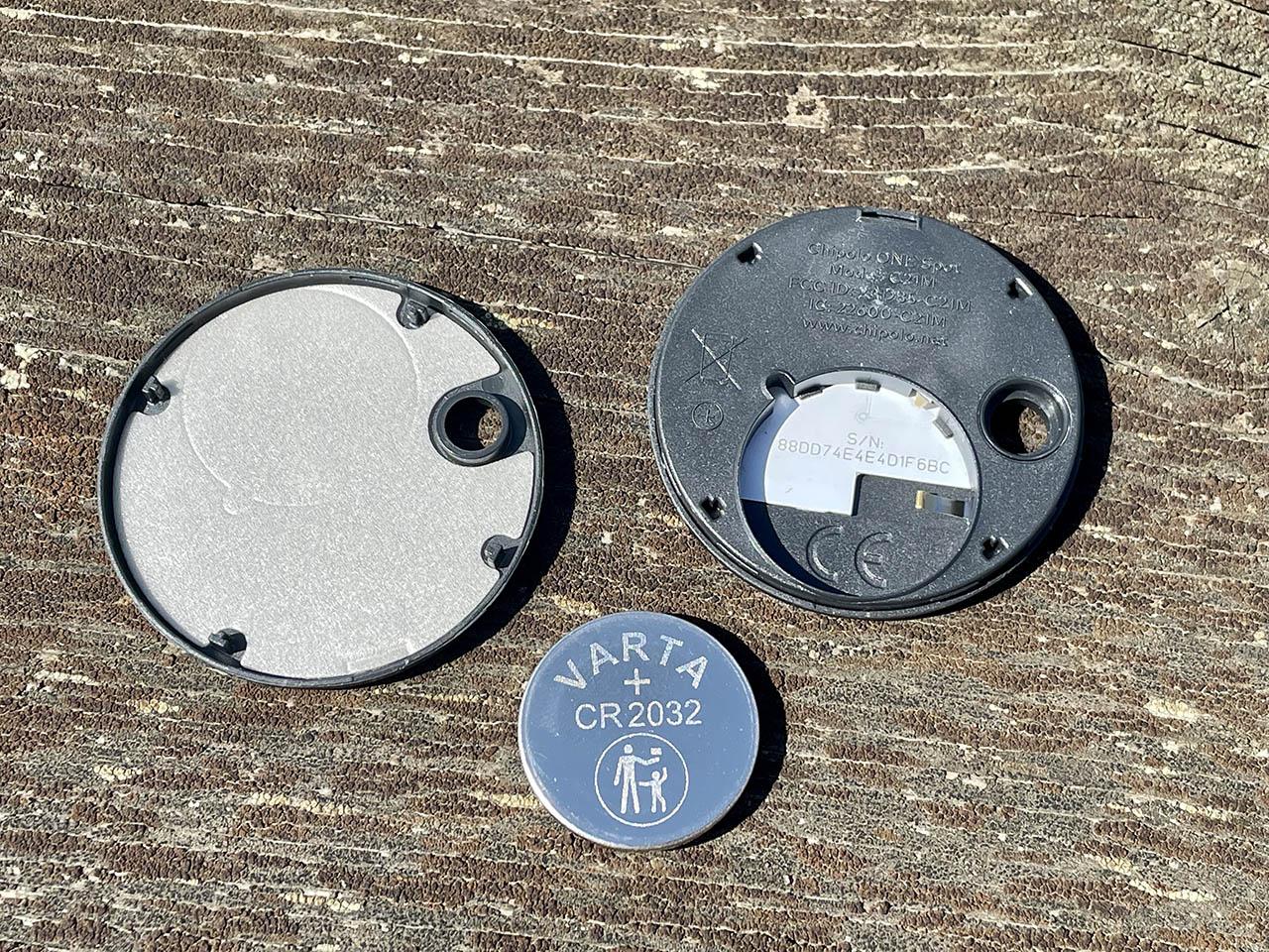 Chipolo One Spot batterij