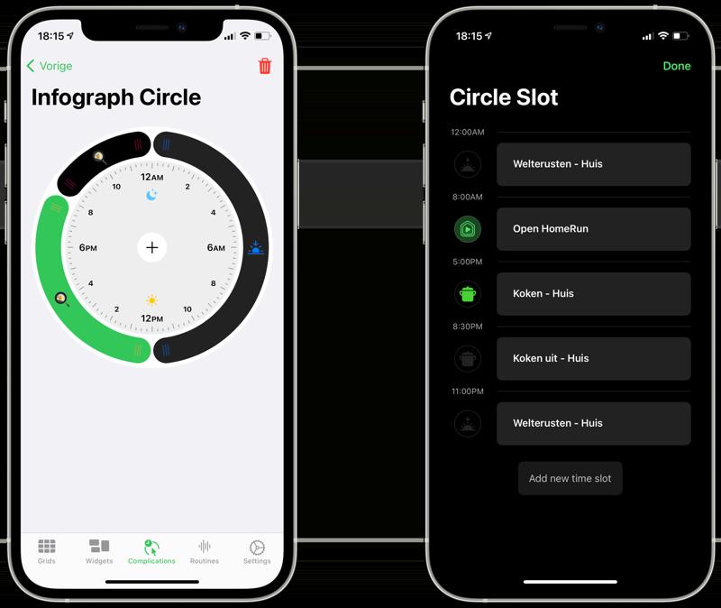 HomeRun 2 vs HomeRun 1: schema instellen voor Apple Watch.