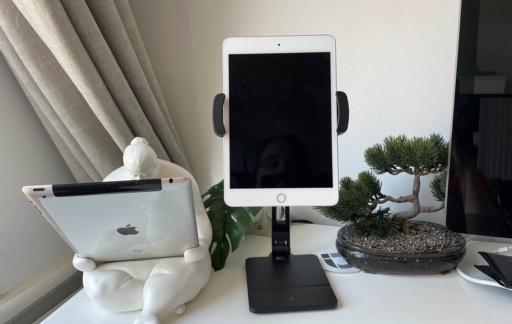 HoverBar Duo met iPad mini