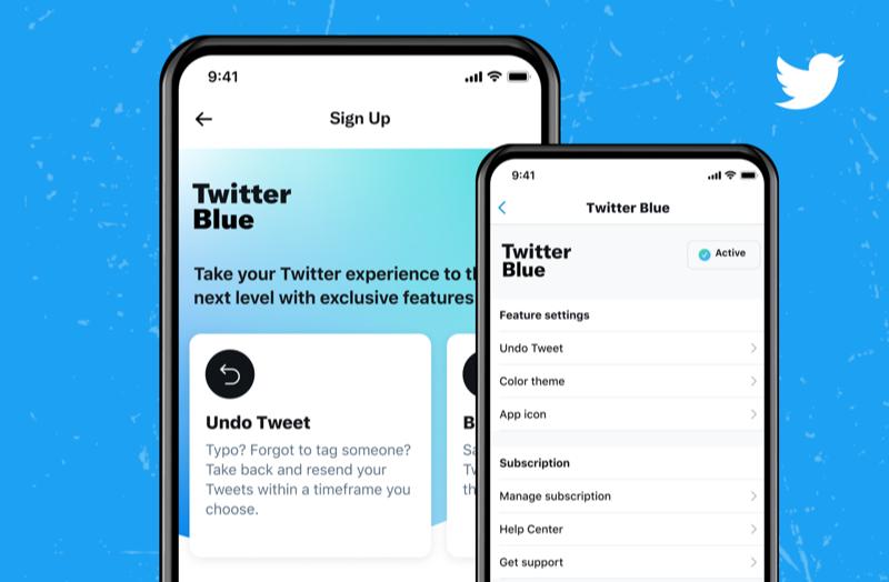 Twitter Blue officieel aangekondigd.