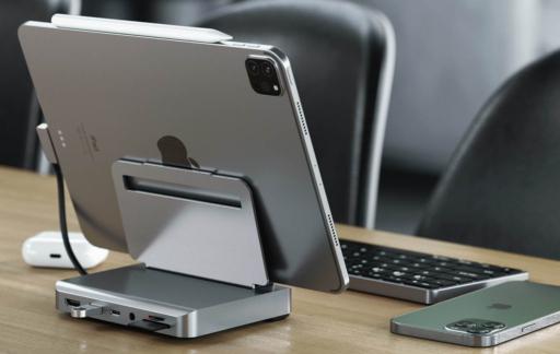 Satechi iPad stand aluminium