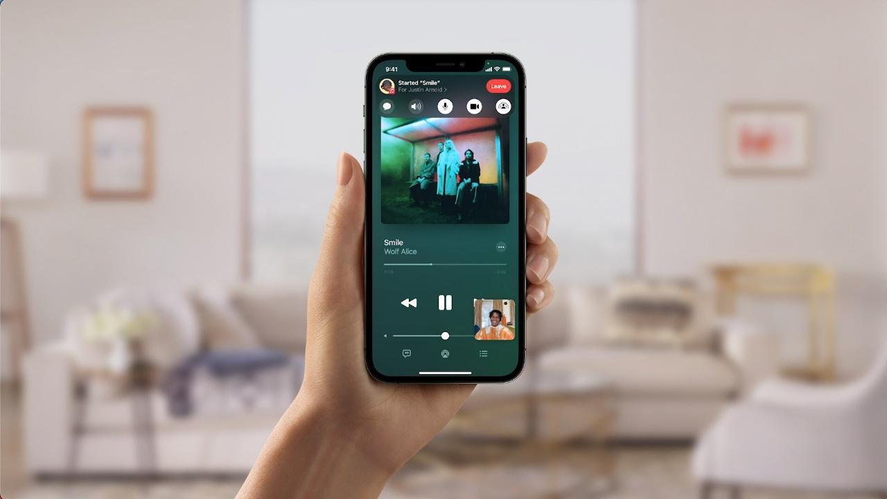 SharePlay met iPhones