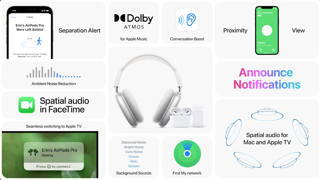 AirPods features