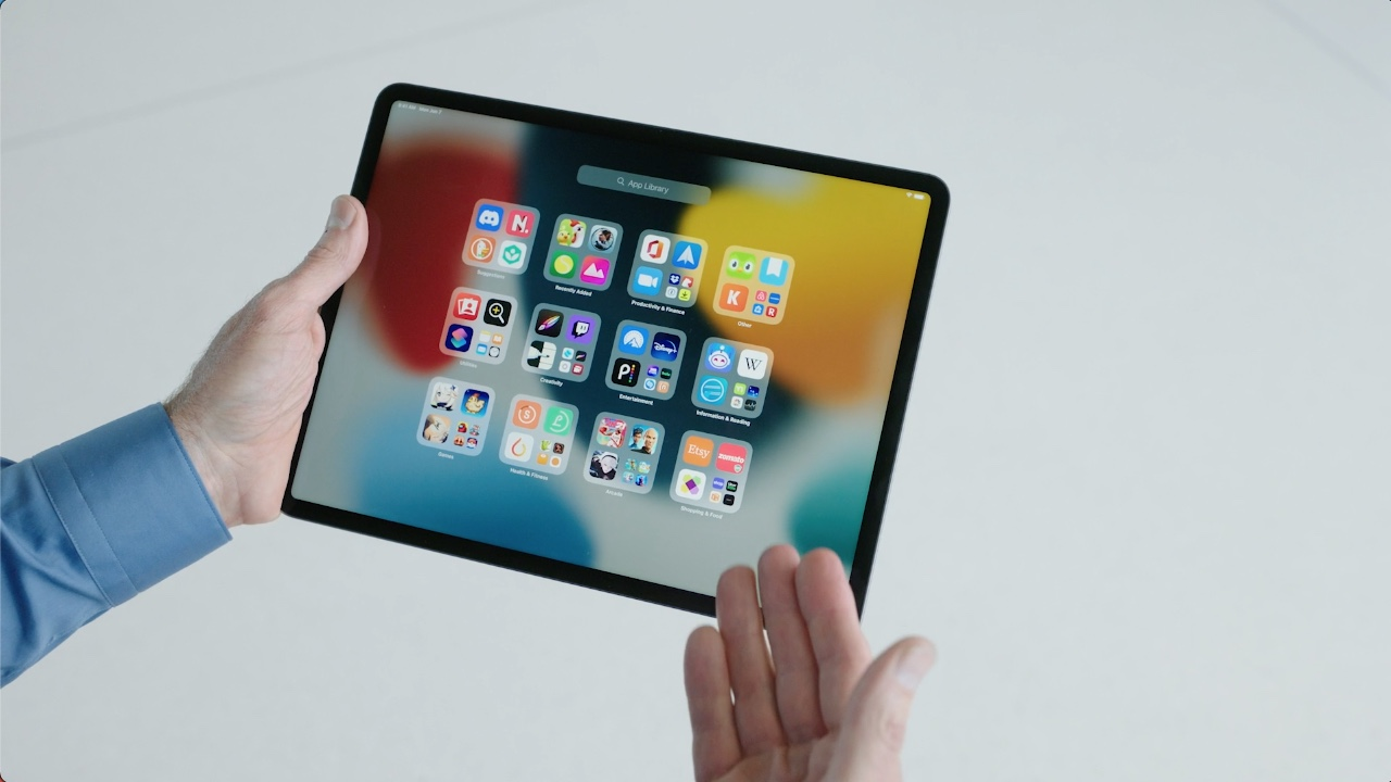 Appbibliotheek iPadOS 15