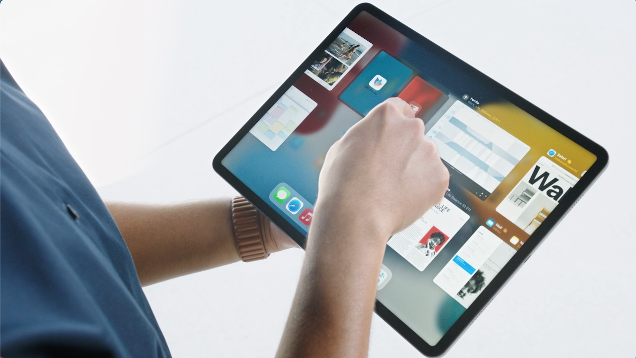 Apps samenvoegen iPadOS 15