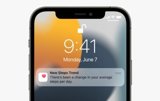 iOS 15 wallpaper en Gezondheid Trends