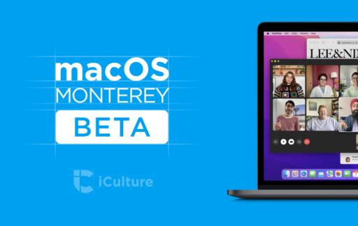 macOS 12 Monterey beta