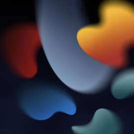 iPadOS 15 donker behang