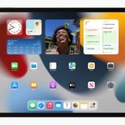 Grote widgets iPadOS 15