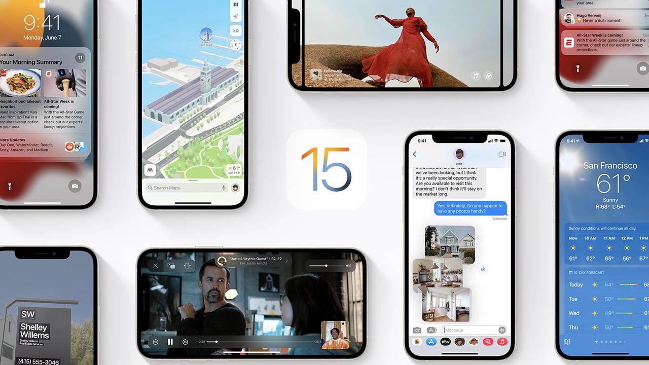 iOS 15 functies