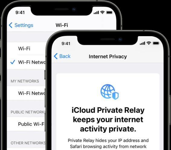 iCloud Plus: Private Relay.