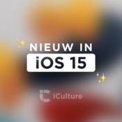 iOS 15 functies.