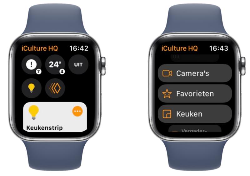 watchOS 8 met Woning-app voor HomeKit.