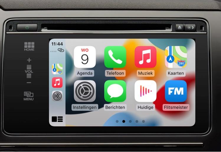 CarPlay iOS 15 verbeteringen.