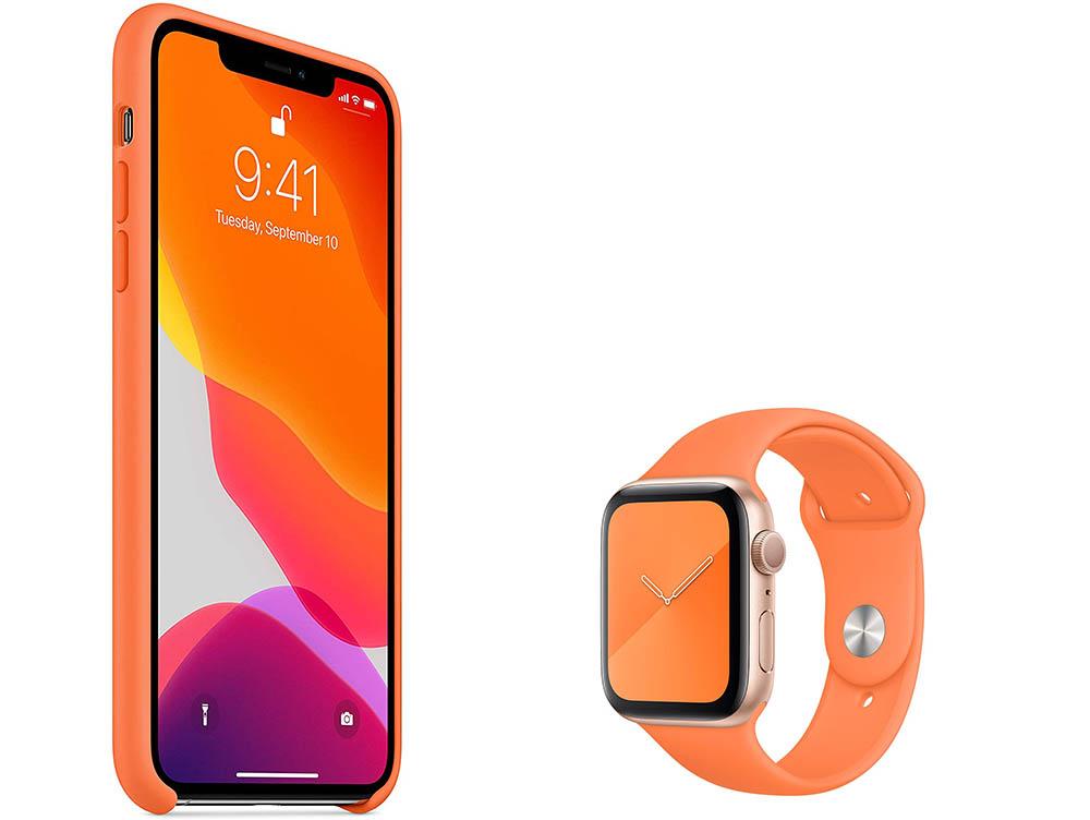 iPhone-hoesje oranje