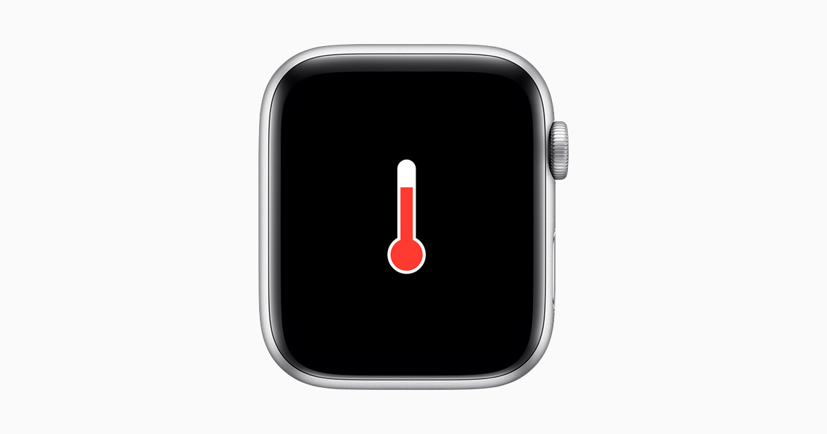 Apple Watch temperatuur