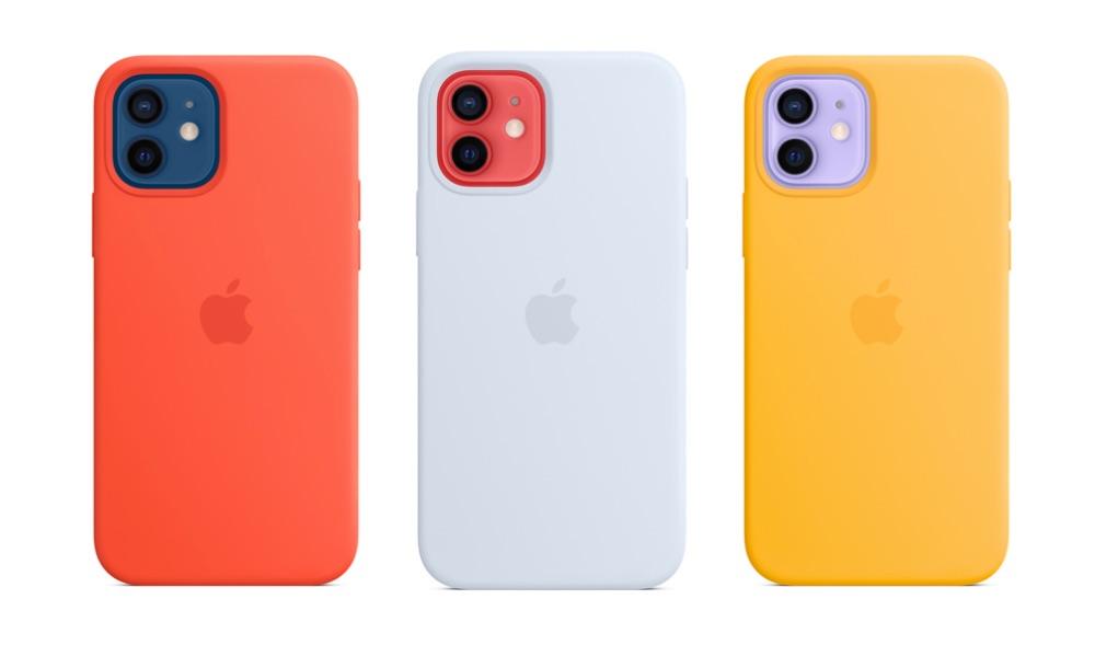 iPhone 12 hoesjes in zomerkleuren 2021.