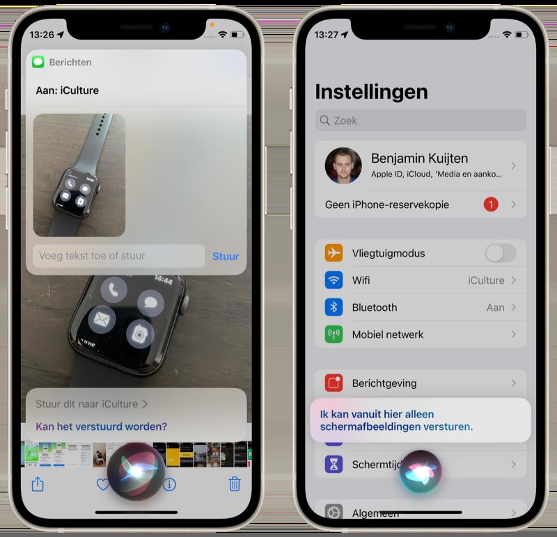Content delen met Siri in iOS 15.